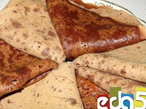 рецепт блинчики на какао