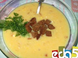 Рецепты горохового супа с сыром плавленным