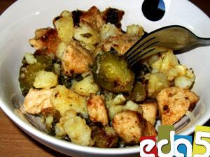 рецепт брюссельской капусты с курицей